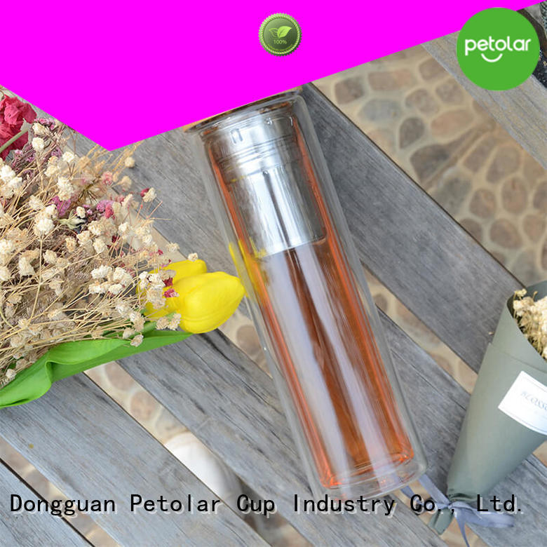 Petolar Wholesale drinking glass water bottle Suppliers for safety