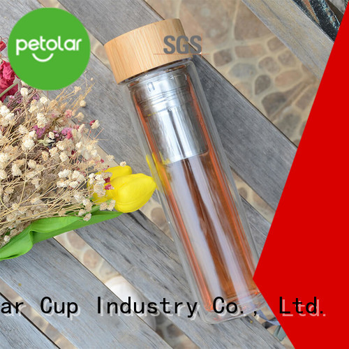 Latest tea infuser water bottle for business for travel