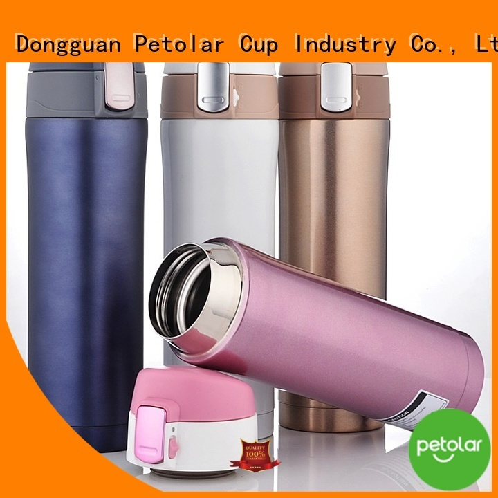 Petolar stainless steel vacuum insulated water bottle manufacturers for safety