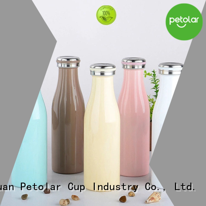 Petolar insulated drink bottles manufacturers for safety
