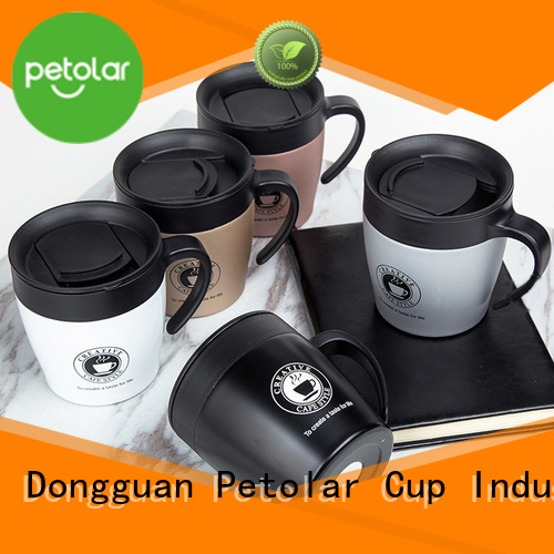 Petolar insulated stainless steel water bottle for business for sport