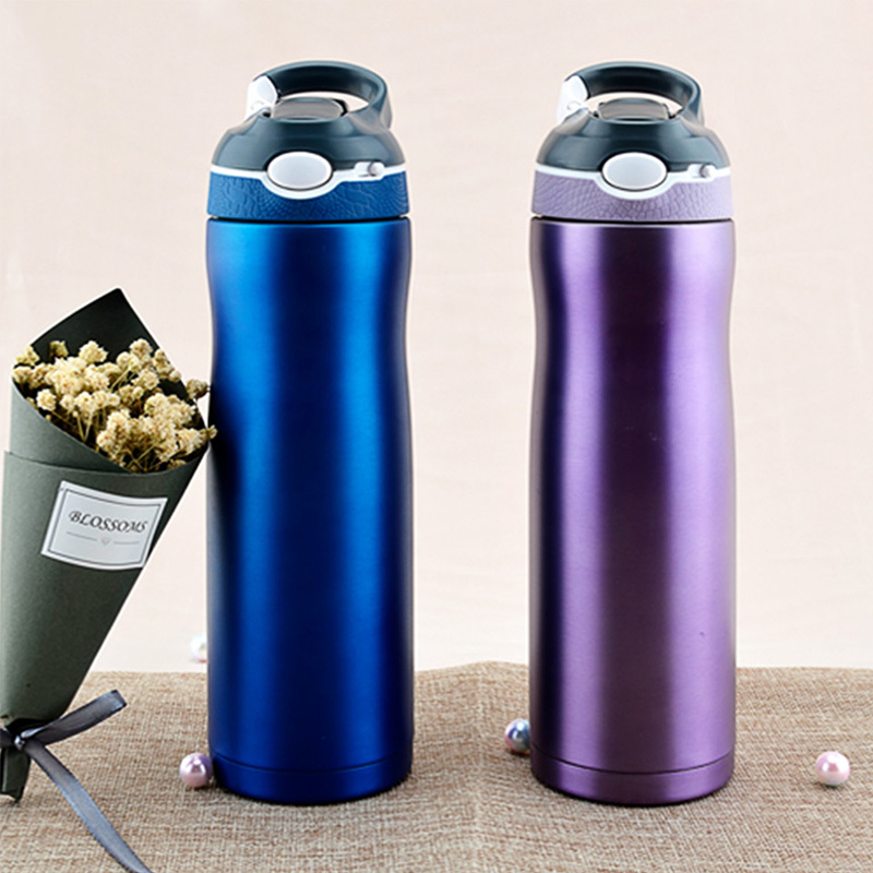 Sport 304 Stainless Steel Water Bottle Insulated Sports Bottle