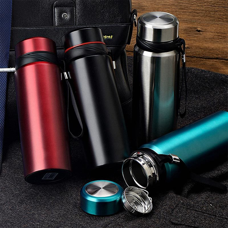 Double Wall Stainless Steel Water Bottle 18/8 Climbing Thermos Cup