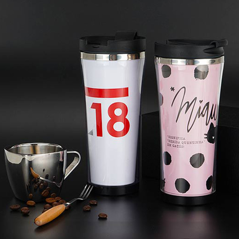 Double Wall Stainless Steel Bottle Insulated Travel Mug