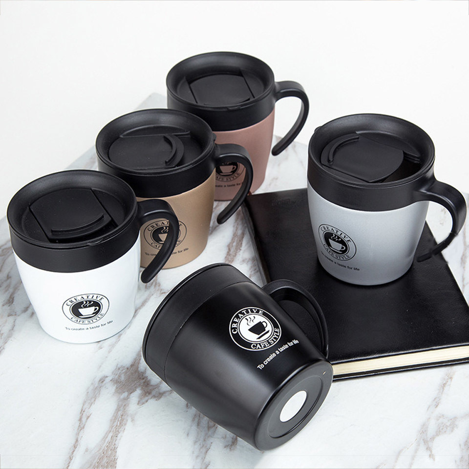 High Quality 350ml Stainless Steel Coffee Mug Stainless Steel Bottle