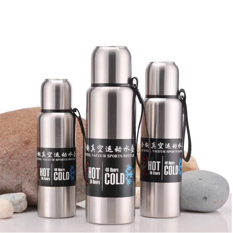 Double Wall Stainless Steel Vacuum Bottle Double Insulated Water Bottle