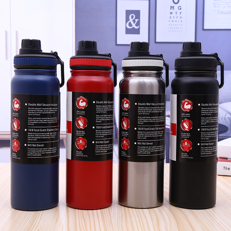 Sport  Stainless Steel Water Bottle Large Capacity 18/8 Insulated Drink Bottle