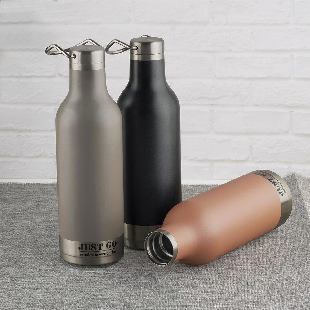 vacuum insulated water bottle & blender mini portable