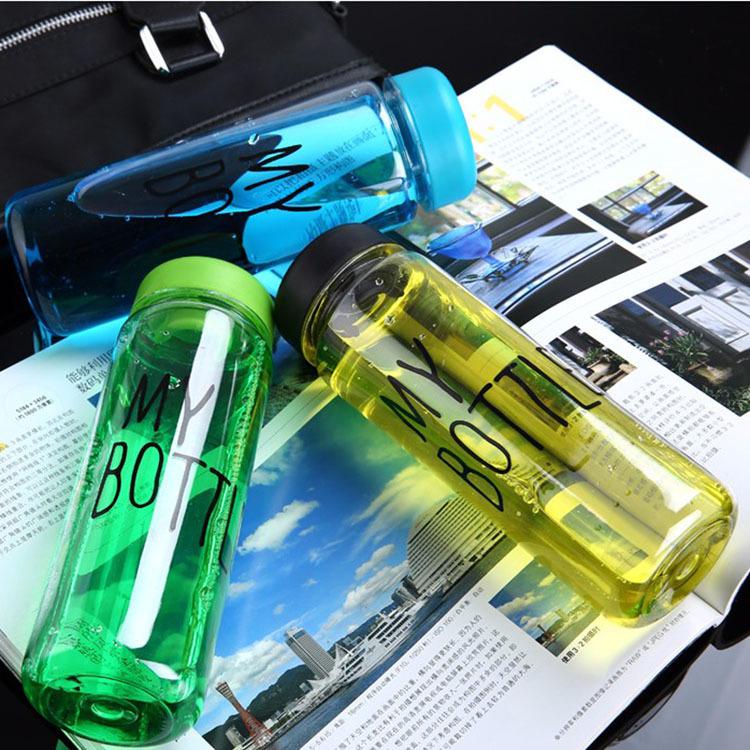 High Quality 500ml Bpa Free Water Bottle Kids Water Bottle Custom Logo