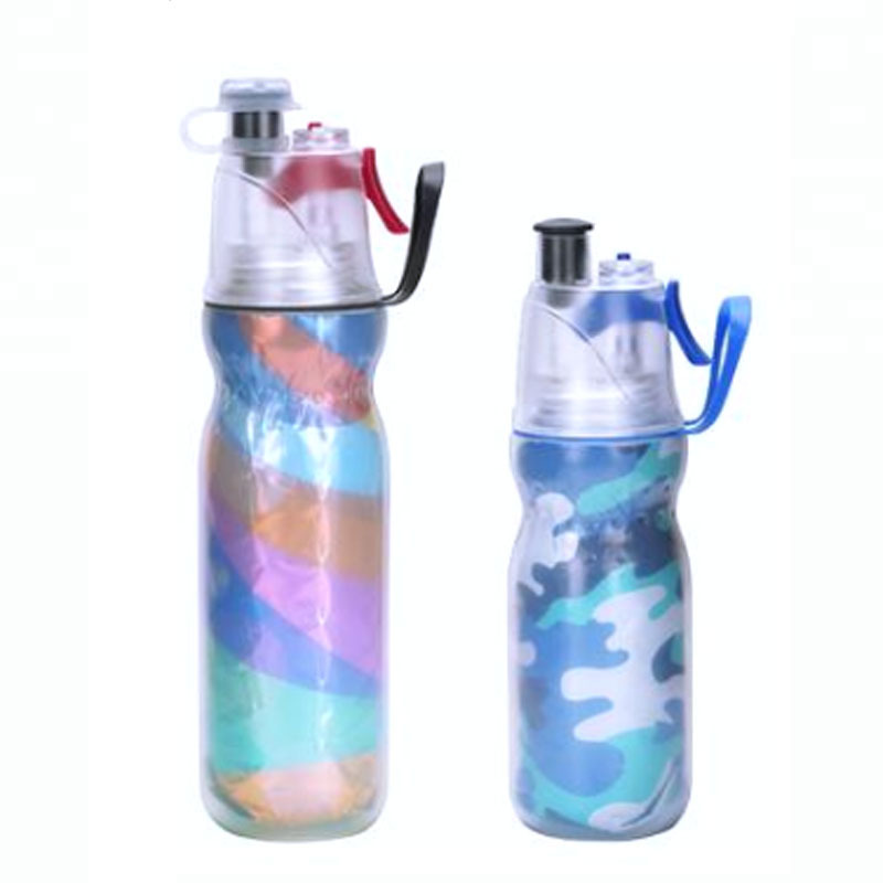 500ml Bpa Free Plastic Bottles Mist Spray Water Bottle Wholesale Custom Logo