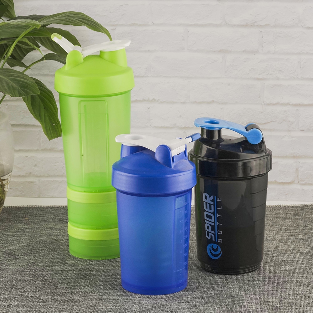 BPA Free Plastic Water Bottle Plastic Water Cup Sports Bottle Shaking Cup