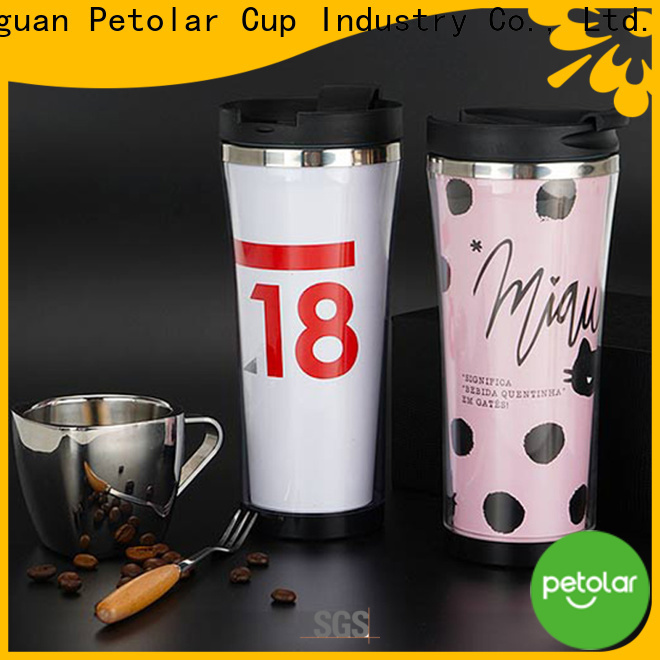 Petolar stainless steel coffee cup company for sport