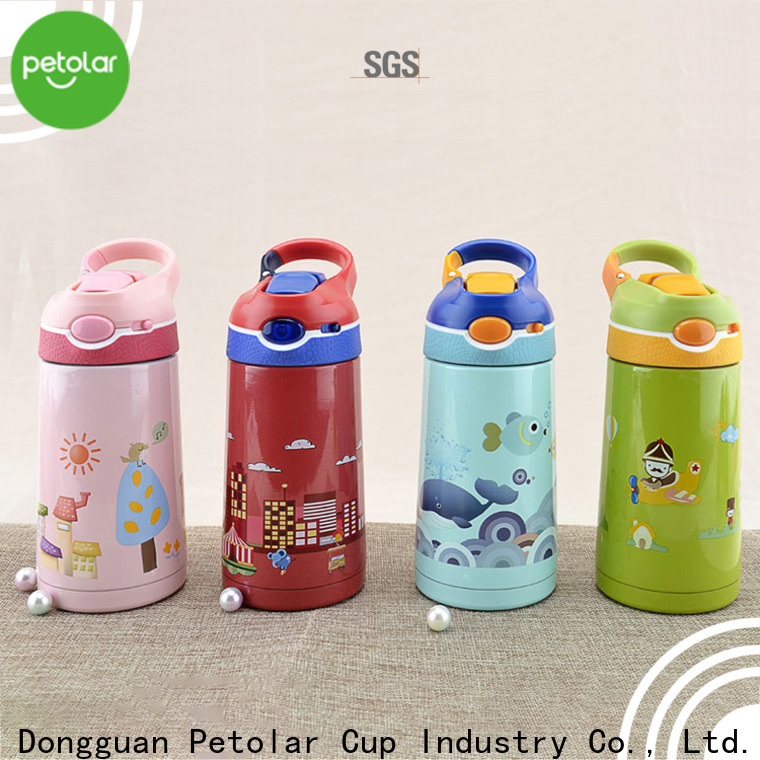 Petolar stainless steel vacuum insulated water bottle for business for convenience