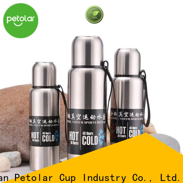Petolar Latest stainless steel thermal water bottle company for convenience