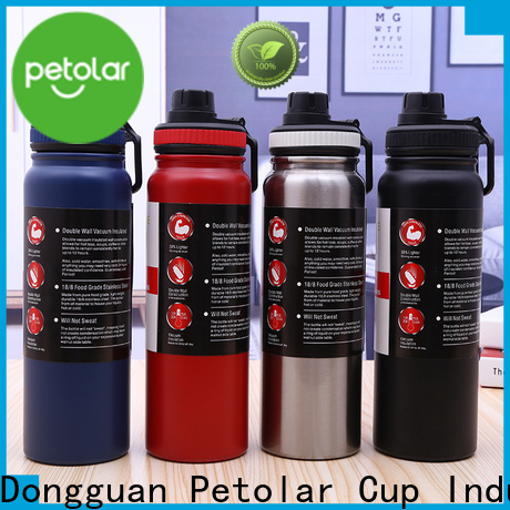 Petolar Latest stainless insulated water bottle manufacturers for convenience