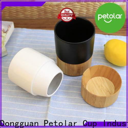 Petolar ceramic travel mug with lid manufacturers for convenience