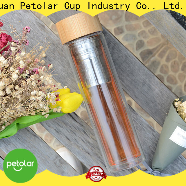 Latest tea tumbler with infuser company for safety