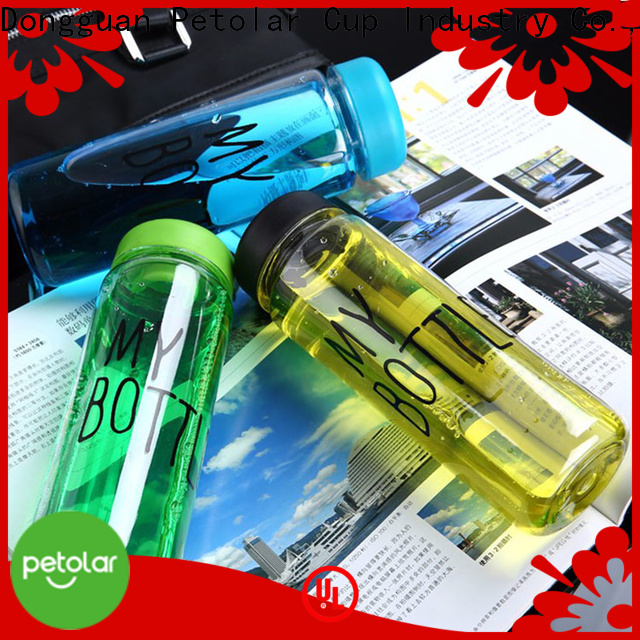 Petolar bpa free plastic bottles for business for travel