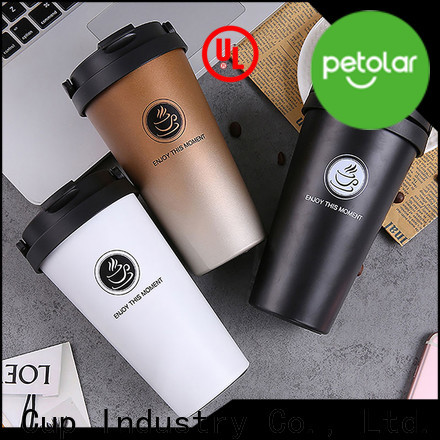 Petolar stainless steel coffee cup factory for convenience