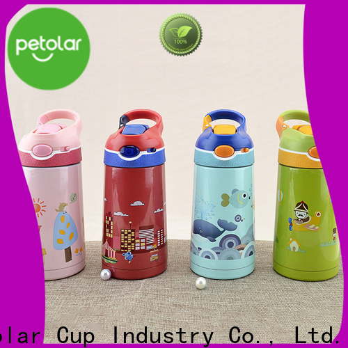 insulated cold water bottle & small battery operated blender
