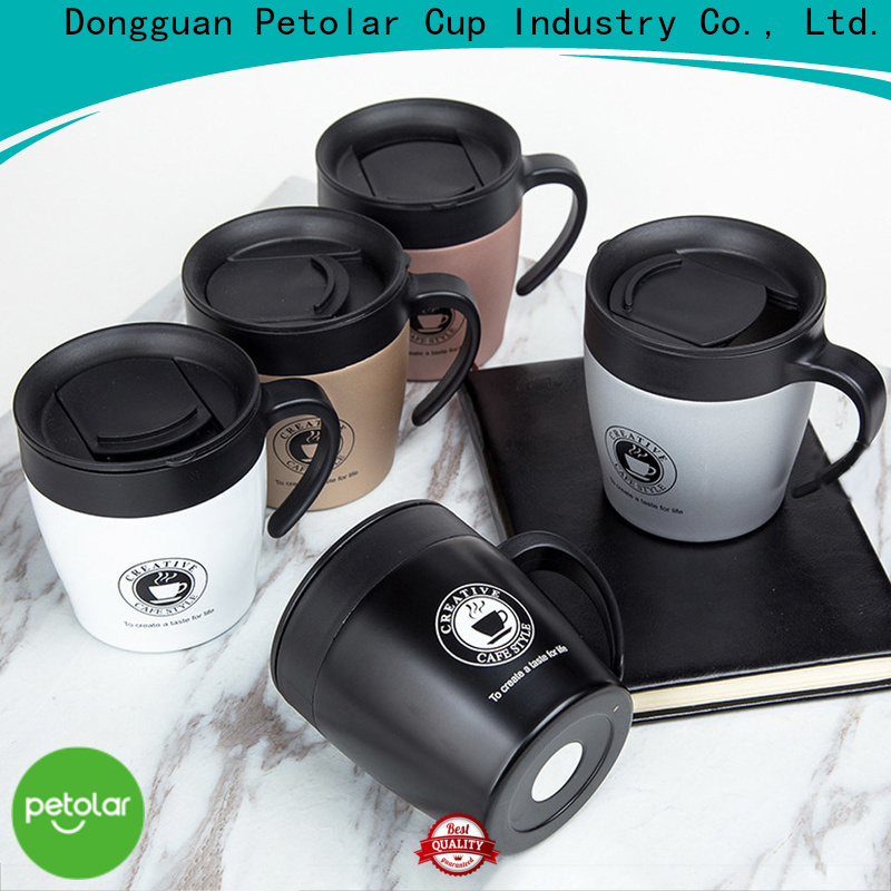 Petolar Top stainless steel coffee cup for business for travel