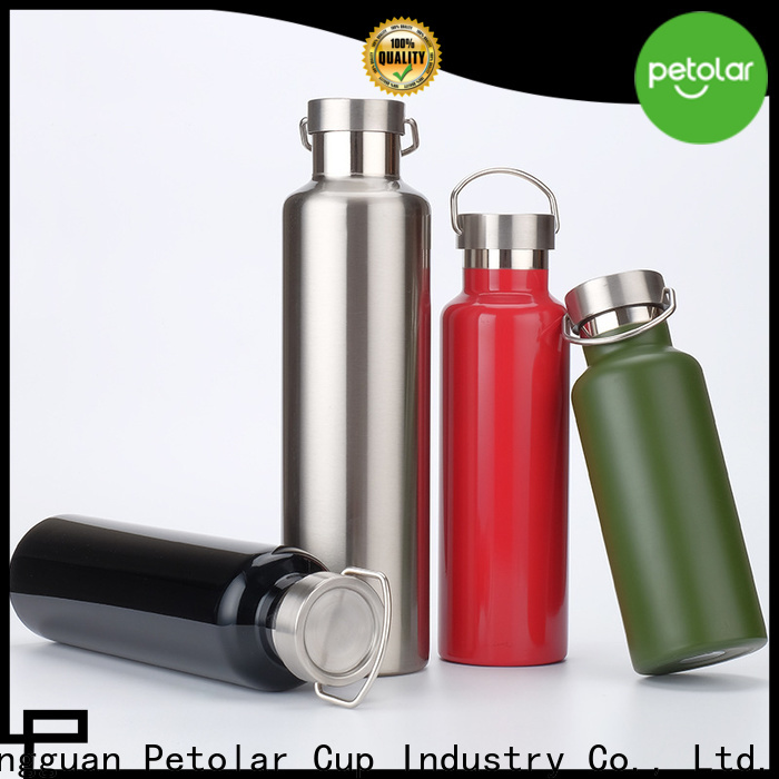 Wholesale stainless steel thermos bottle factory for travel