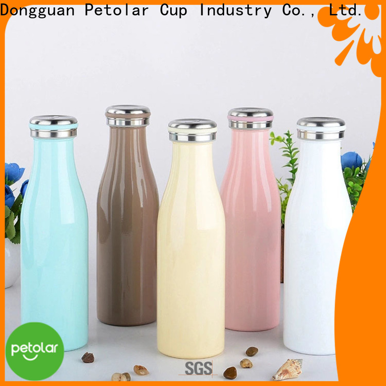 Petolar stainless thermos bottle company for convenience