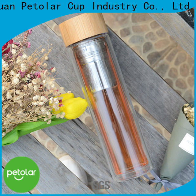 Petolar tea bottle infuser manufacturers for travel