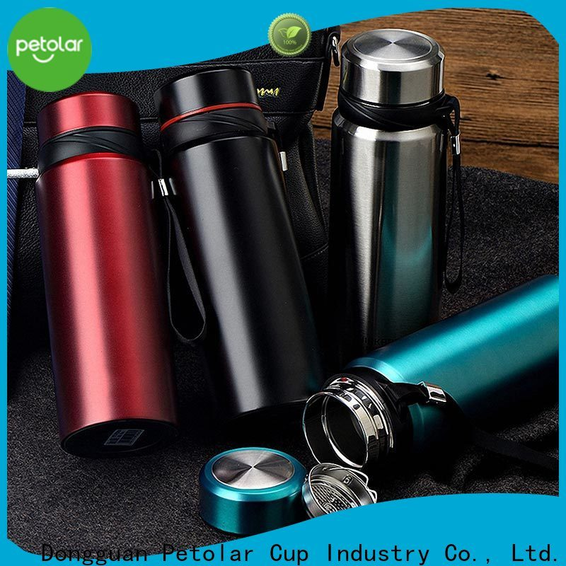 Petolar stainless thermos bottle manufacturers for sport