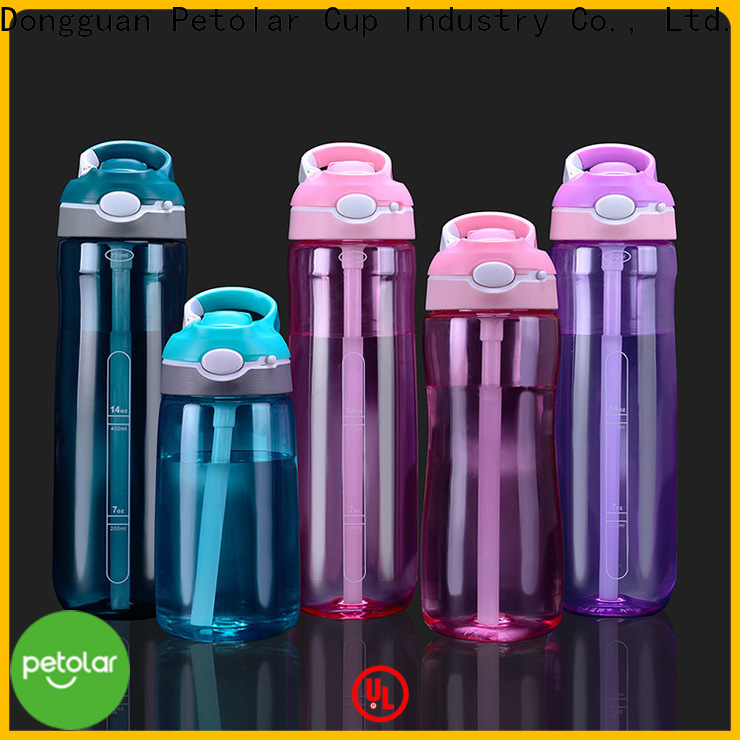 Petolar clear bpa free water bottles for business for sport