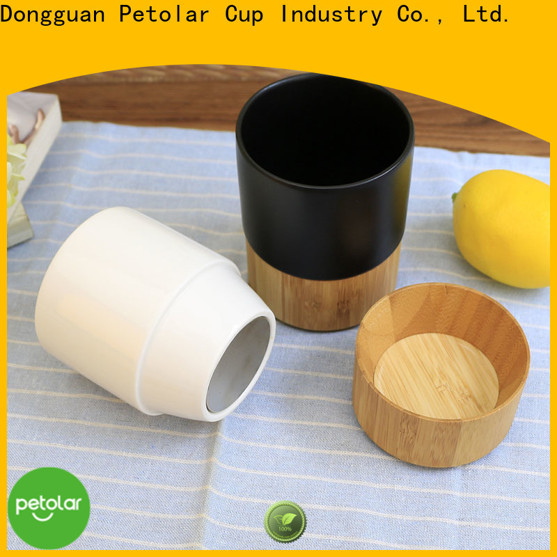 Petolar ceramic coffee cup factory for travel