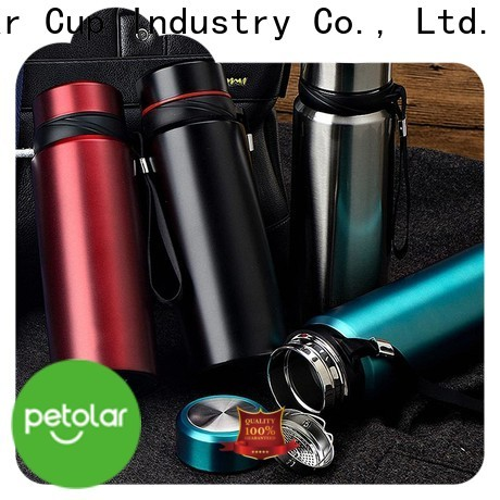 Petolar insulated stainless steel water bottle Suppliers for safety