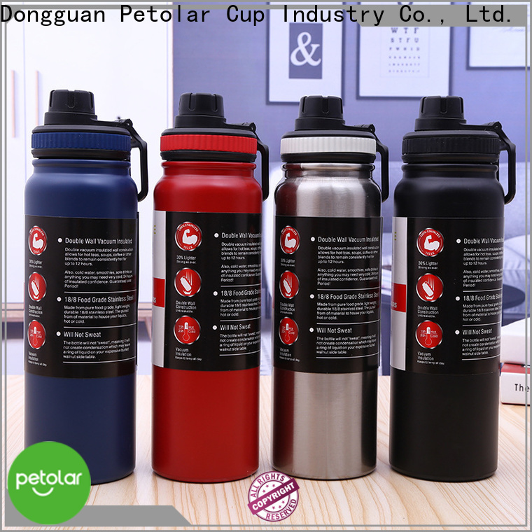 High-quality stainless steel thermal water bottle factory for sport