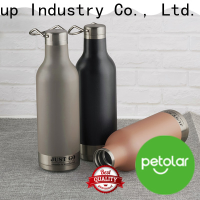 New double wall stainless steel water bottle manufacturers for travel