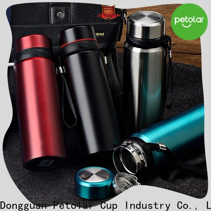Petolar stainless steel coffee tumbler for business for travel