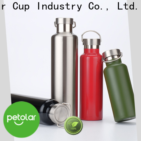 stainless insulated water bottle & personal shake blender