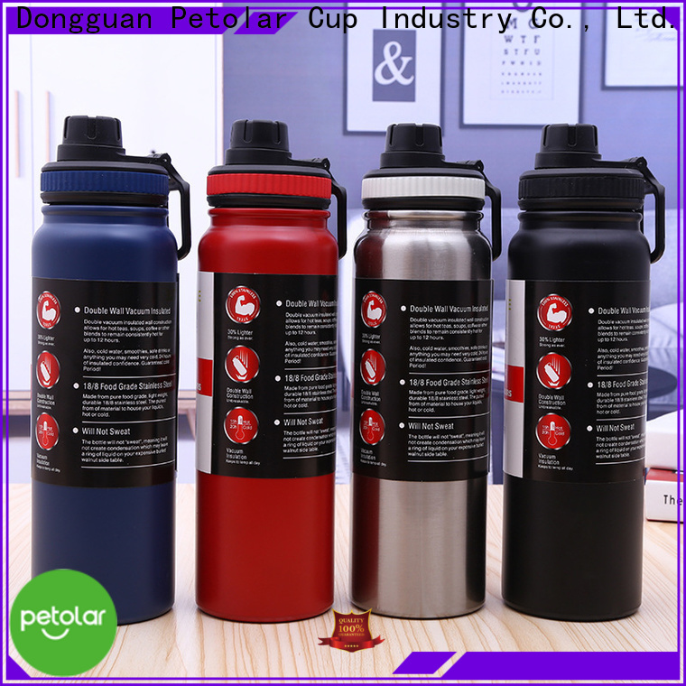 cool metal water bottles & stainless thermos bottle