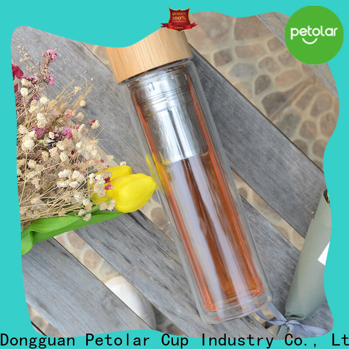 glass drinking bottle