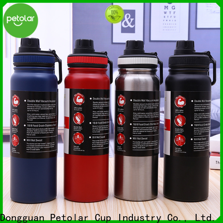Top stainless steel water flask Suppliers for sport