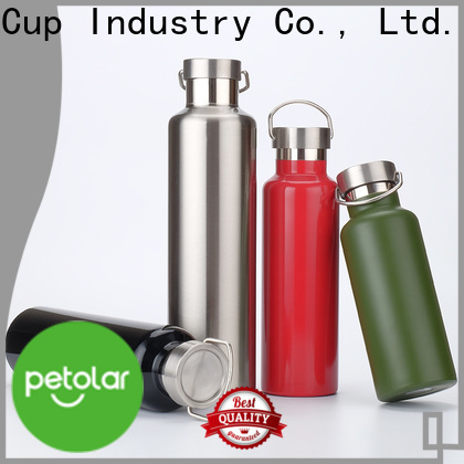 Petolar stainless steel drink bottles company for safety