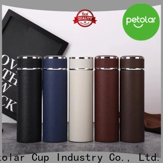 Petolar double wall stainless steel water bottle manufacturers for sport
