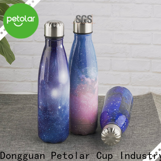 Petolar Custom stainless steel insulated bottle company for convenience