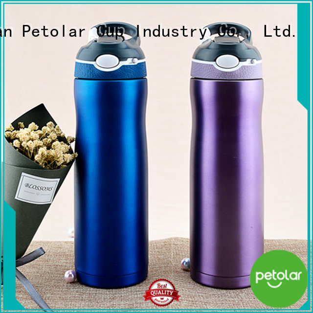 Petolar Custom thermos insulated water bottle factory for convenience
