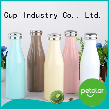Petolar stainless thermos bottle company for safety