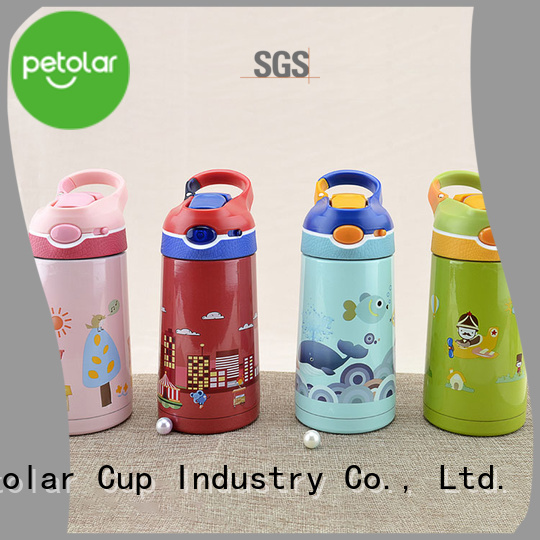 Petolar Latest insulated steel water bottle for business for safety