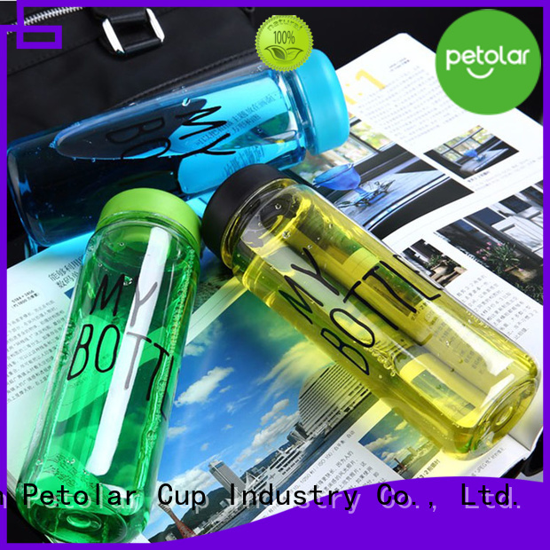 Petolar custom bpa free water bottles for businessSupply for travel