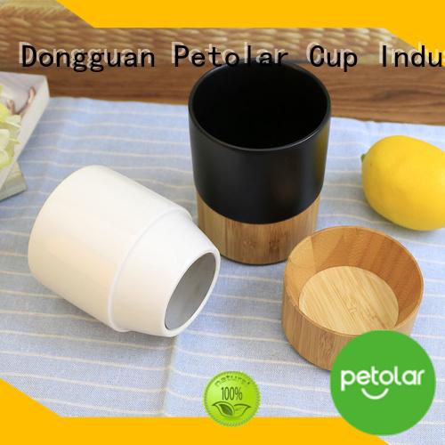 Petolar ceramic travel coffee mugs Suppliers for travel
