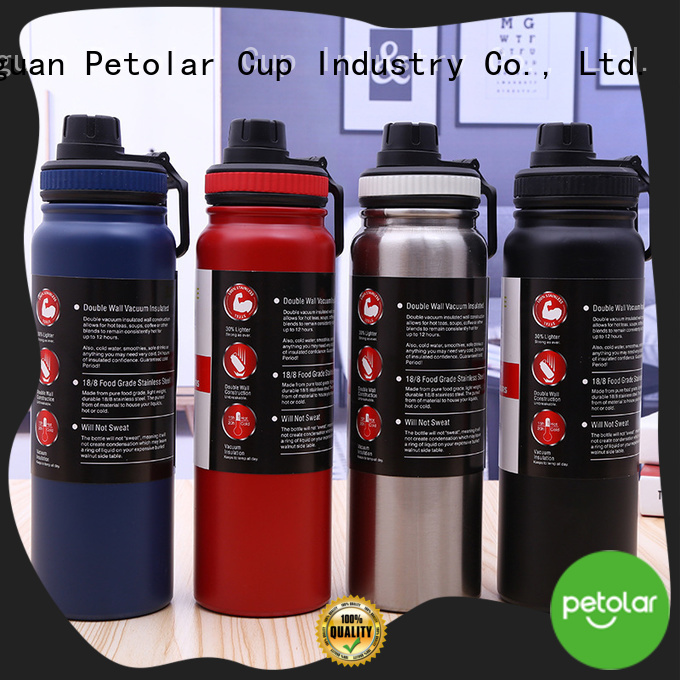 Petolar New thermos stainless steel water bottle manufacturers for safety