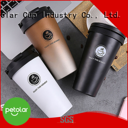 Petolar Wholesale stainless steel insulated coffee mugs factory for travel