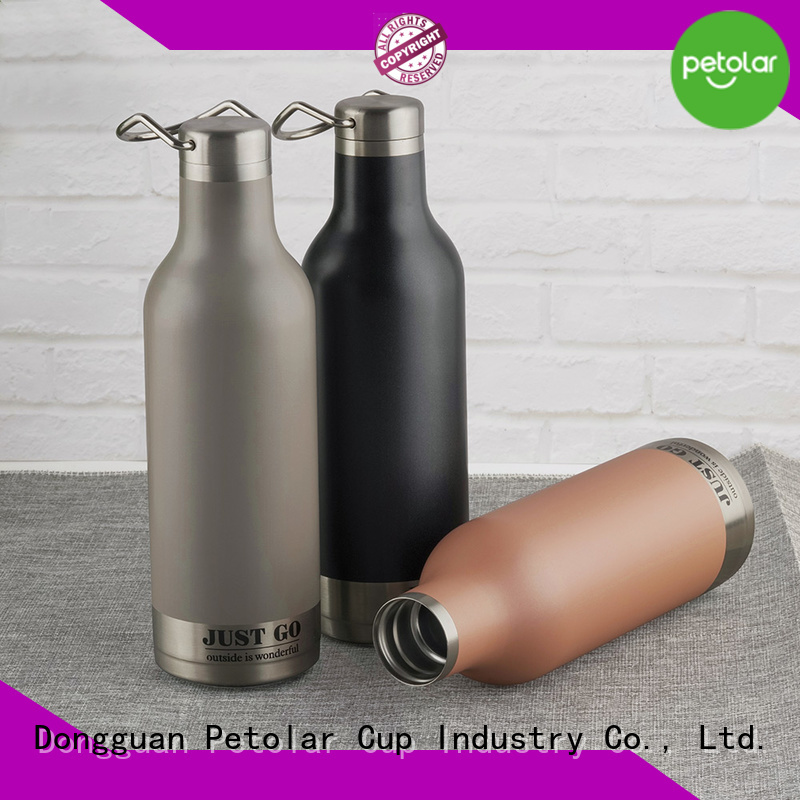 Petolar insulated drink bottles Suppliers for convenience